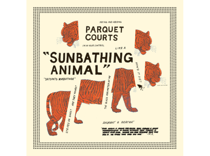 Sunbathing Animal CD