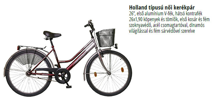 Kormorán kerékpár ára