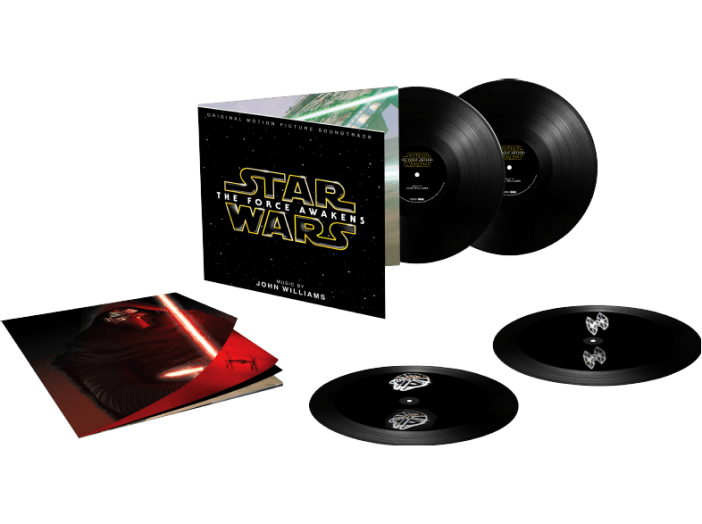 Star Wars Episode VII - The Force Awakens (Limited Edition) (Hologram Edition) (Csillagok ...) LP