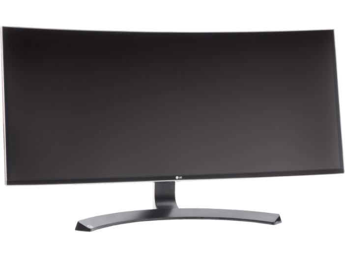 "34UC88-B 34"" IPS ívelt ultrawide monitor HDMI, DisplayPort"