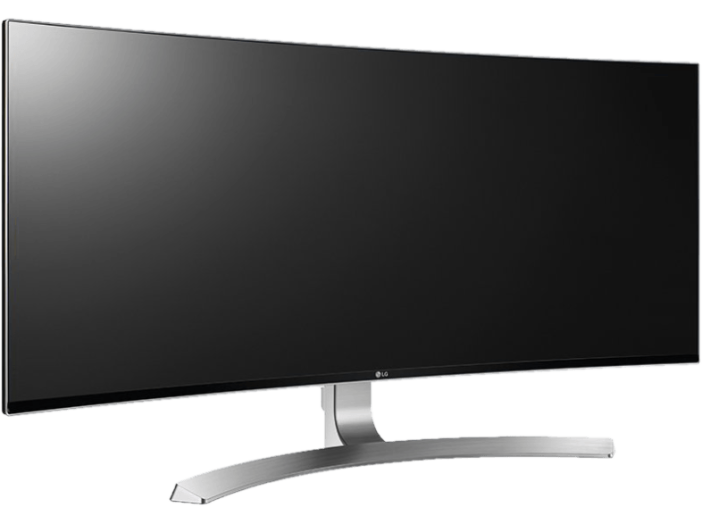 "34UC98-W 34"" IPS ívelt ultrawide monitor HDMI, DisplayPort, Thunderbolt"