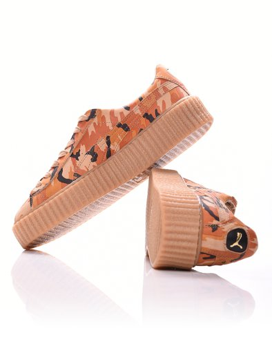 SUEDE CREEPERS CAMO