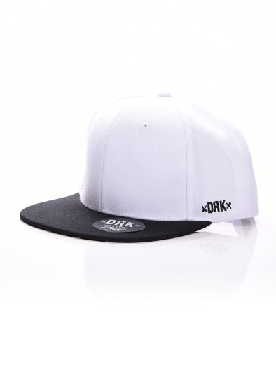 BASIC SNAPBACK WHITE/BLACK