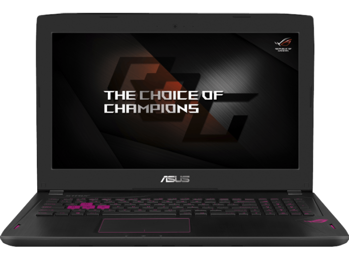 "GL502VT-FY080T gaming notebook (15,6"" FullHD/Core i7/16GB/128GB SSD + 1TB HDD/GTX970 VGA/Windows 10)"