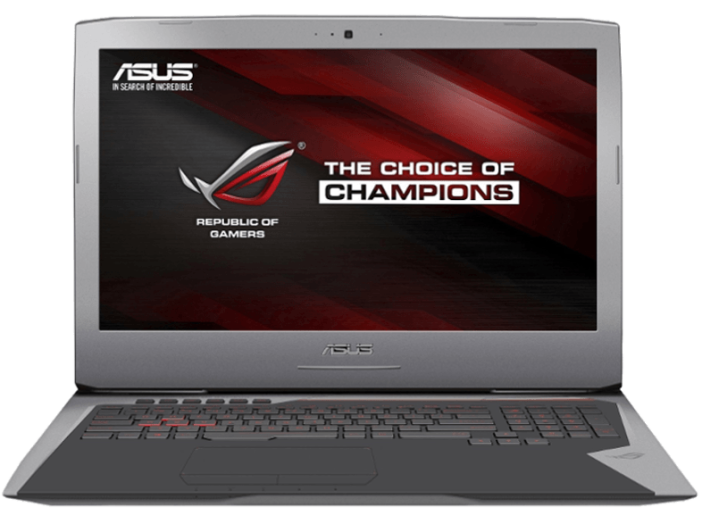 "G752VY-GC110T gaming notebook (17,3"" Full HD/Core i7/8GB/1TB/GTX980 8GB VGA/Windows 10)"
