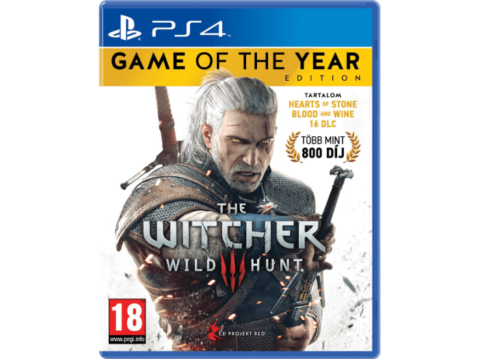 The Witcher 3: Wild Hunt Game of the Year Edition (Playstation 4)