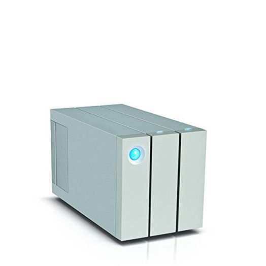 LaCie 6TB 2big Thunderbolt 2 Series / 2-Bay RAID Array / 2 hot swappable drives / RAID 0, 1, JBOD / Daisy chain