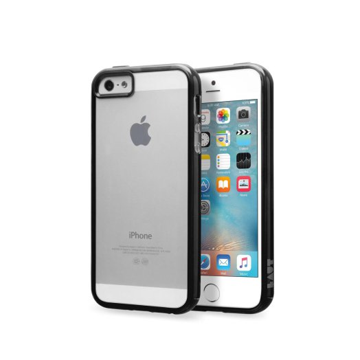 LAUT - Re-Cover iPhone 5/5s/SE tok - Fekete