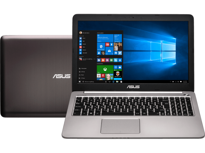 "K501UB-DM042T szürke notebook (15,6"" Full HD/Core i5/4GB/1TB/GT940 2GB VGA/Windows 10)"