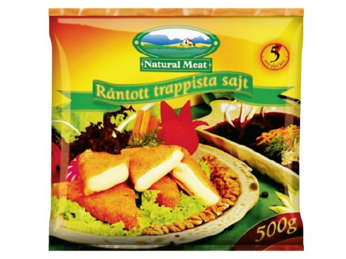 Natural Meat rántott trappista sajt