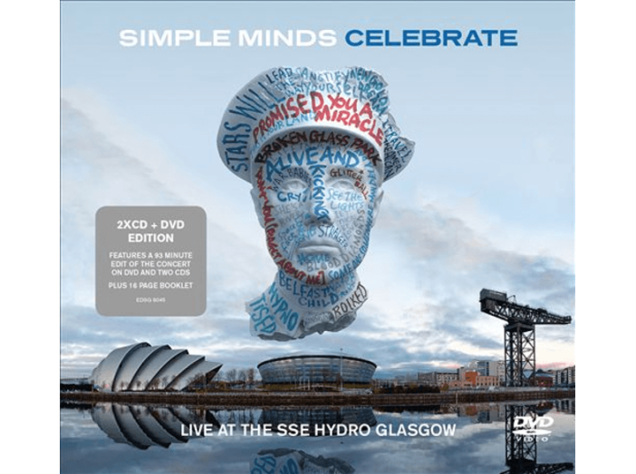 Celebrate: Live from the SSE Hydro Glasgow (CD + DVD)