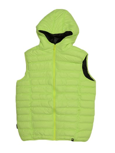 SNOWBALL VEST NEONGREEN