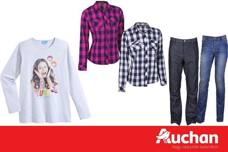 c2439e41d3 Akciós férfi, női és gyermek ruhák az Auchanban - globalplaza