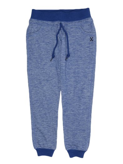 BASIC SWEAT PANT BLUE MARL