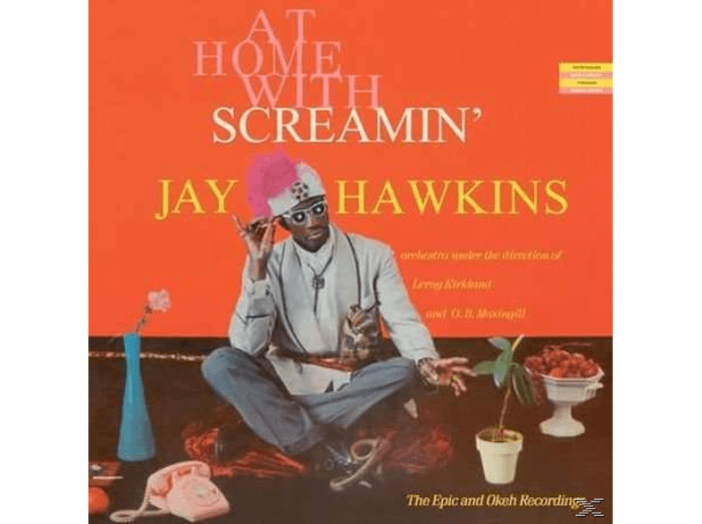 At Home with Screamin' Jay Hawkins (CD)