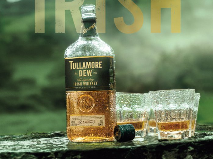 Tullamore Dew ír whiskey