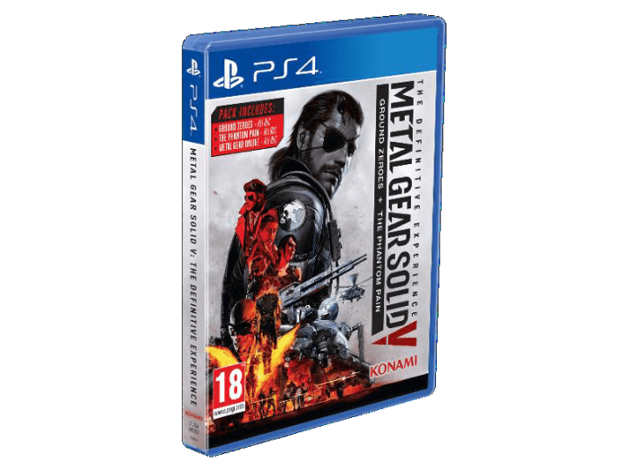 PS4 MGS DEFINITIVE EXPERIENCE
