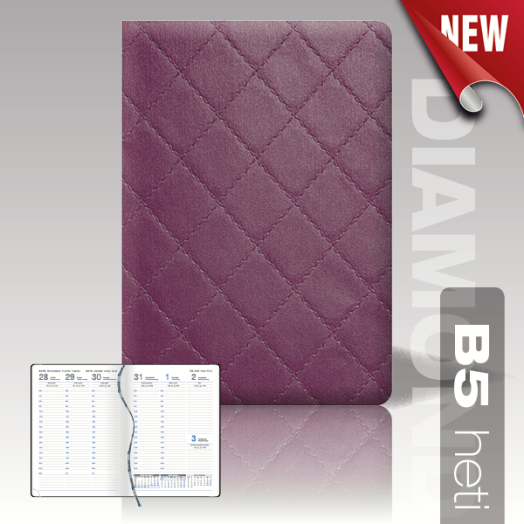 Diamond agenda B5 heti