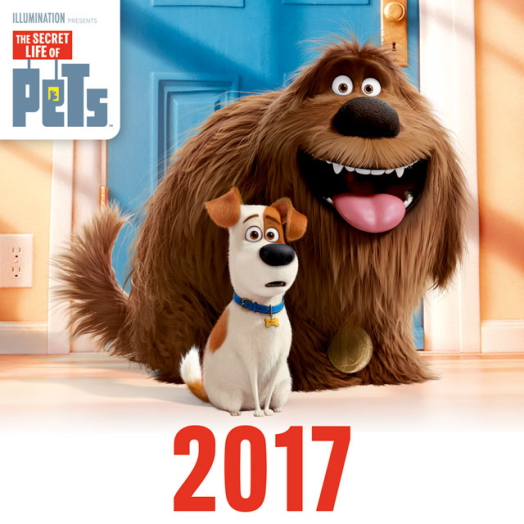 Lizzy nagy lemeznaptár The Secret Life of Pets