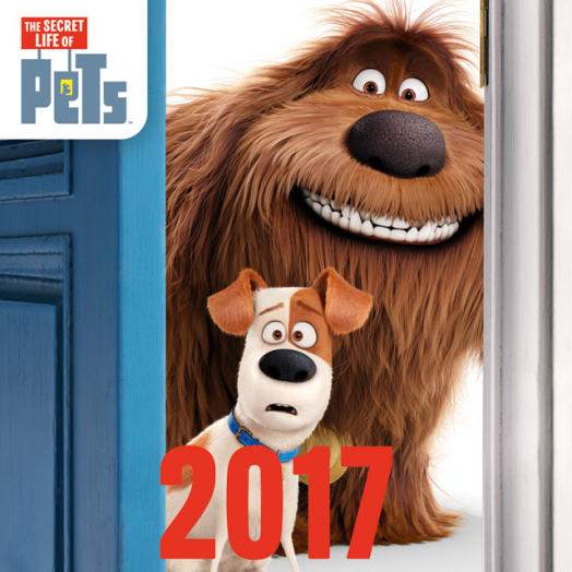 Lizzy közepes lemeznaptár The Secret Life of Pets