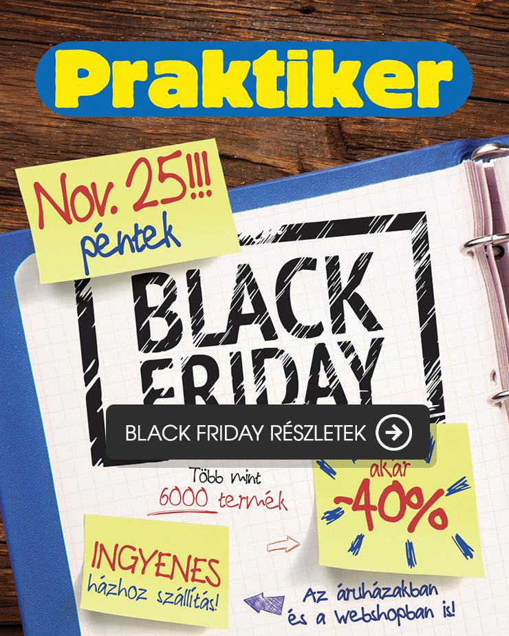 Praktiker Black Friday akció november 25-én 3759286038