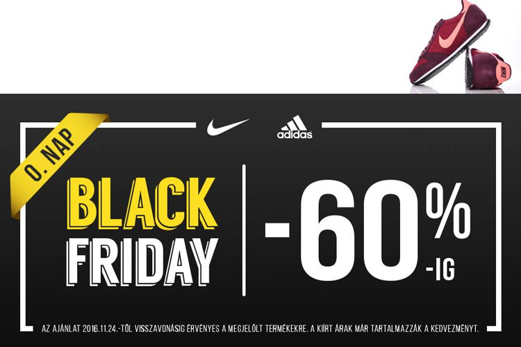 Black Friday akció a Sportfactoryban