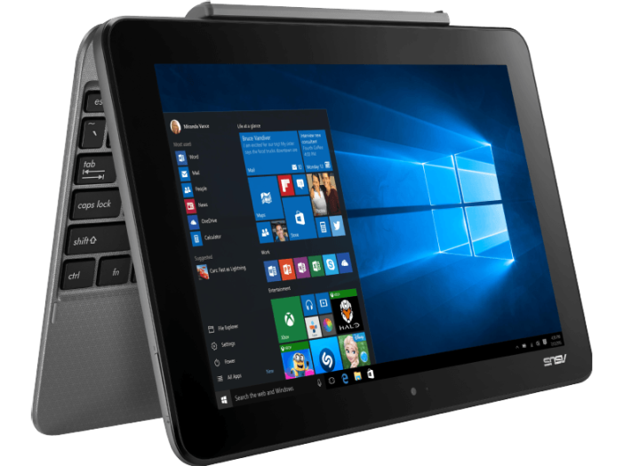 "Transformer Book szürke 2in1 eszköz T101HA-GR030T (10,1""/Intel Atom/4GB/128GB/Windows 10)"