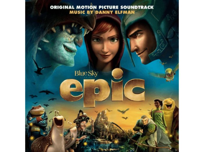 Epic (Original Motion Picture Soundtrack) (A zöld urai) CD