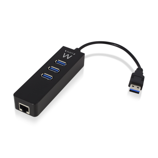 Ewent EW1140 USB 3.0 HUB  + Gigabit port