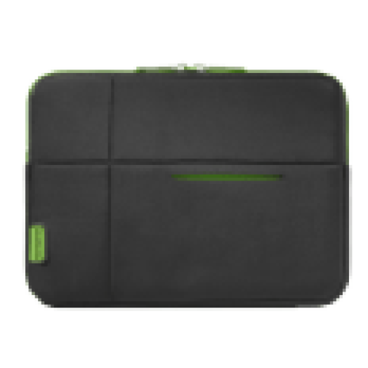 "Airglow Sleeves black - green 10,2"" notebook tok (U37.19.002)"