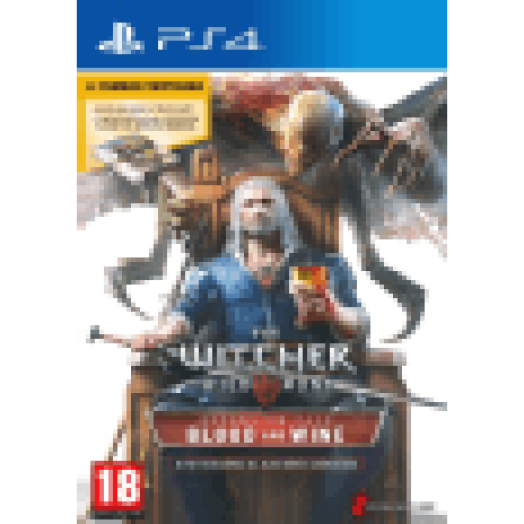 The Witcher 3 Wild Hunt: Blood and Wine (PS4)