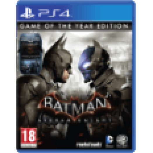Batman: Arkham Knight - Game Of The Year edition (PS4)