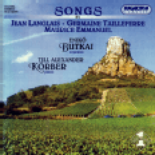 Songs by Jean Langlais, Germaine Tailleferre, Maurice Emmanuel CD