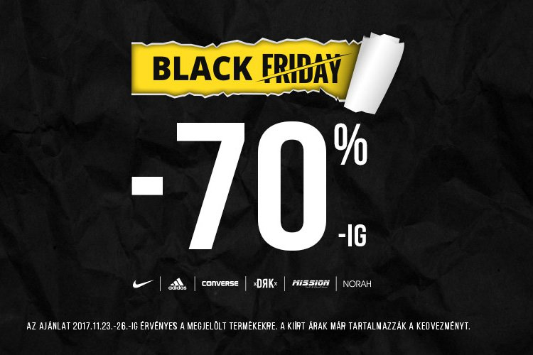 Black Friday a Sportfactoryban