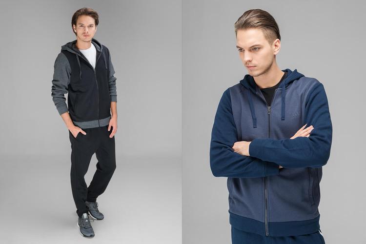 77e0d5380c Az Adidas Performance férfi kollekciójában a sötét árnyalatok dominálnak.
