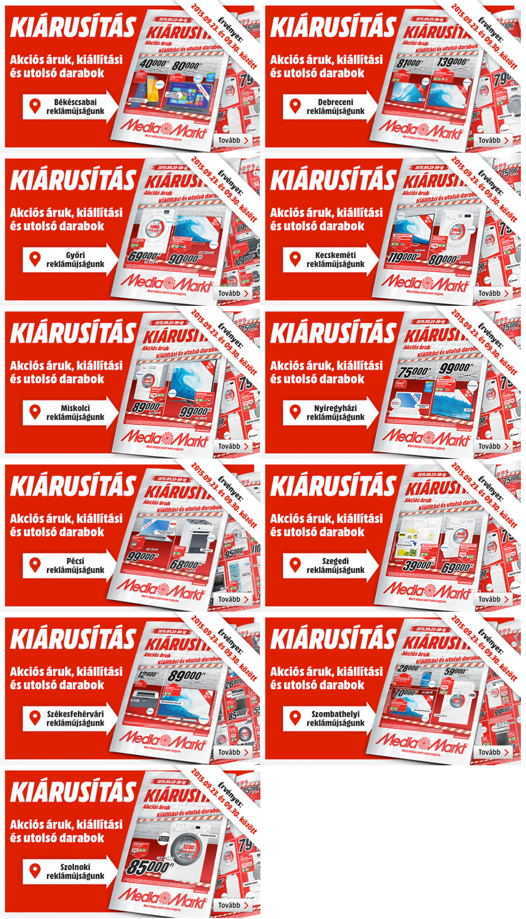 Óriási kiárusítás a Media Marktban! - globalplaza 389cff54ad