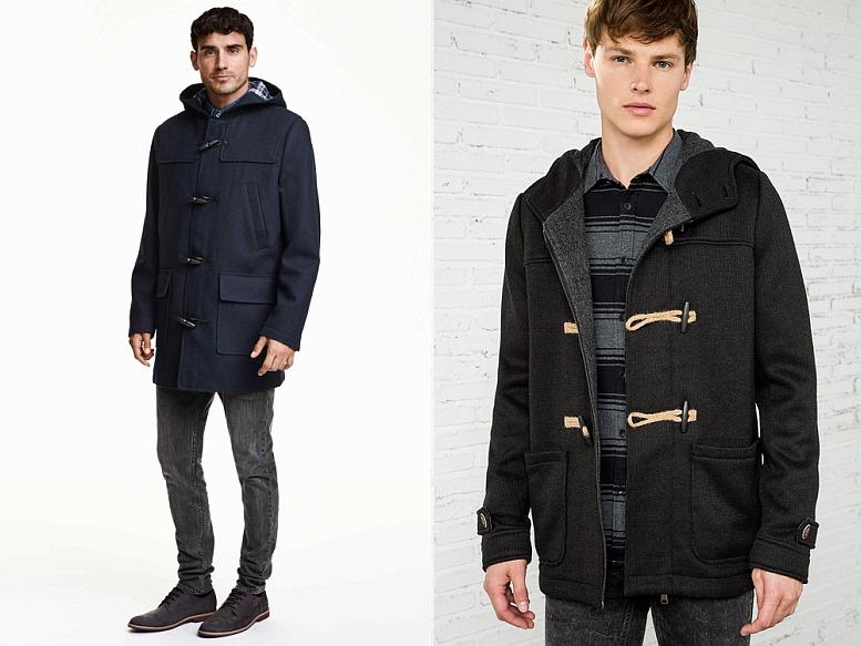 H&M vs. Springfield férfi kabátok globalplaza