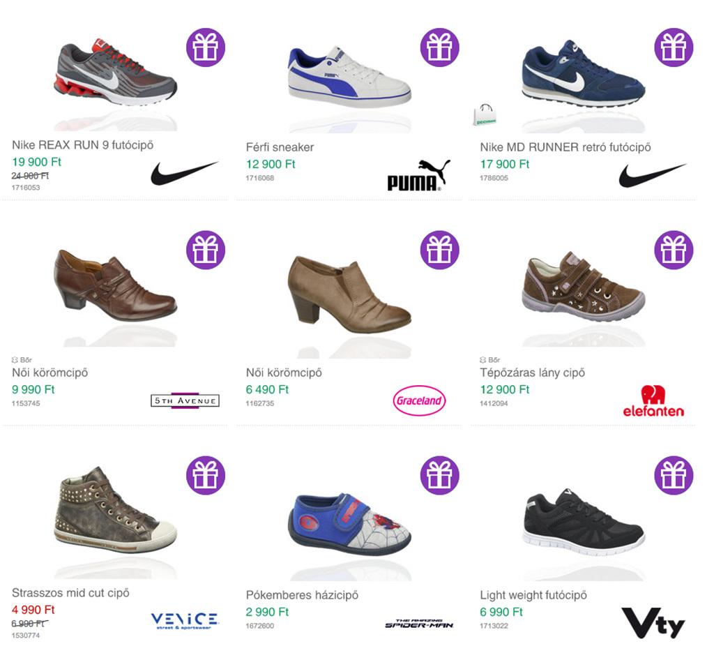Leárazott férfi sportcipők a Deichmann Online Shopban