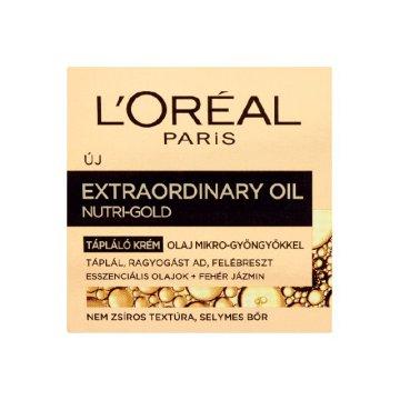 L'Oréal Nutri-Gold Xtra Oil arckrém - ár, vásárlás, rendelés, vélemények