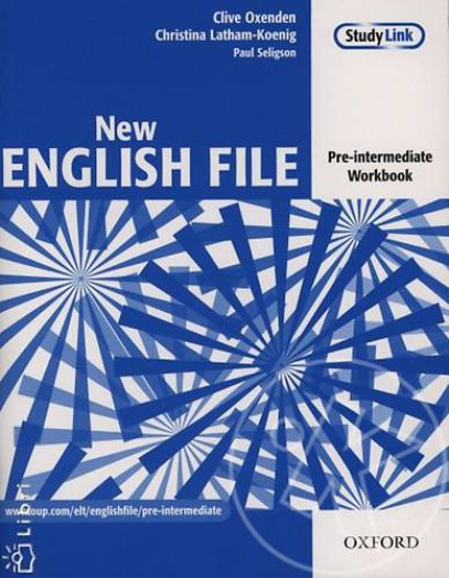 NEW ENGLISH FILE - PRE-INTERMEDIATE WORKBOOK + MULTIROM PACK