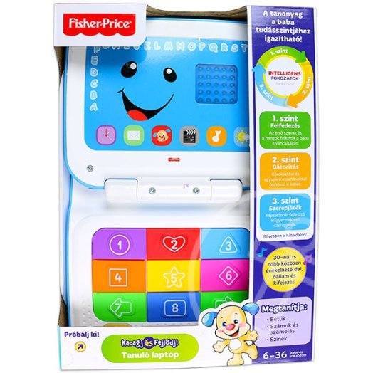 Fisher-Price: Tanuló laptop