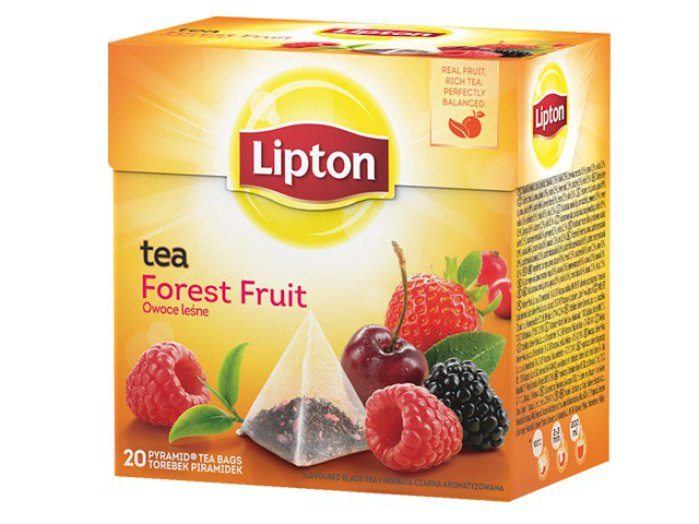 Lipton piramis tea