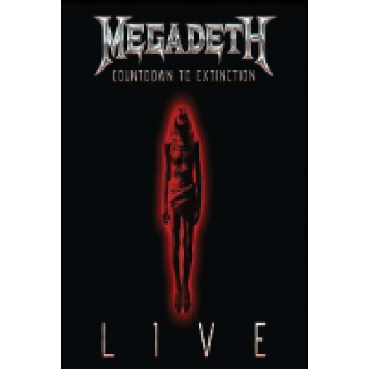 megadeth countdown to extinction live dvdcd 225r
