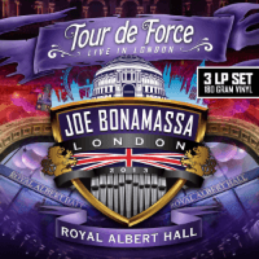 Tour De Force - Live In London, Royal Albert Hall 2013 LP