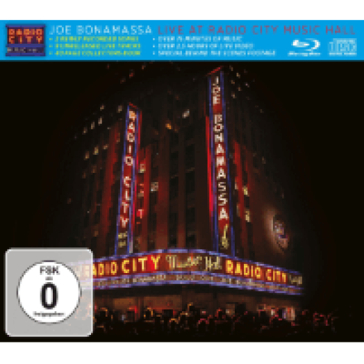 Live At Radio City Music Hall 2015 CD+Blu-ray