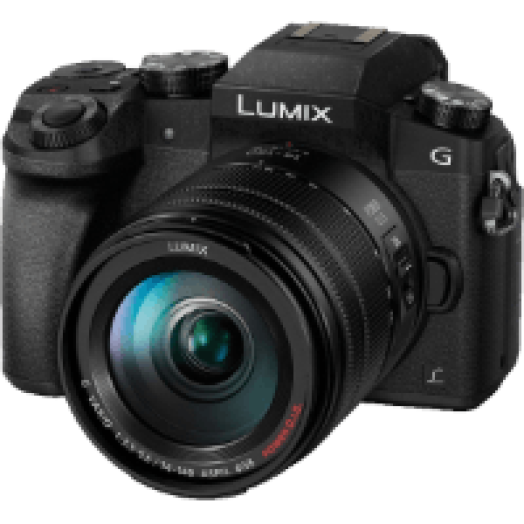 Lumix DMC-G7HEG-K + 14-140 mm Kit fekete