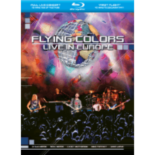 Live In Europe Blu-ray