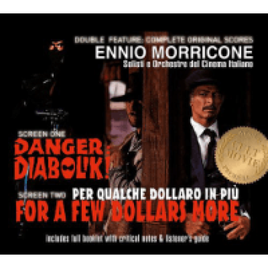 Danger Diabolik / For a Few Dollars More (Diabolik / Pár dollárral többért) CD