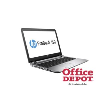 "HP ProBook 450 G3 P4N95EA 15,6""/Intel Core i3-6010U 2,3GHz/4GB/500GB/AMD Radeon R7 M340 1GB/DVD író notebook"