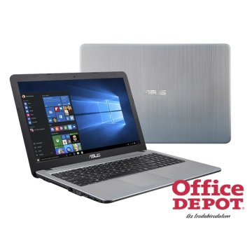 "ASUS X540LA-XX053D 15,6""/Intel Core i3-4005U/4GB/1TB/DVD író/ezüst notebook"